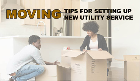 Moving or Setting Up New Utility Service